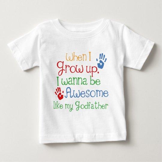 Godchild Gift Awesome Godfather Baby T-Shirt