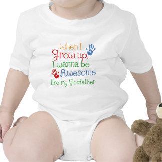 Godchild Gift Awesome Godfather T Shirt