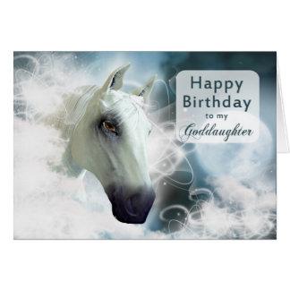Goddaughter birthday Arabian Horse Cards