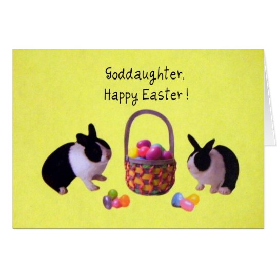 Goddaughter, Happy Easter! Card