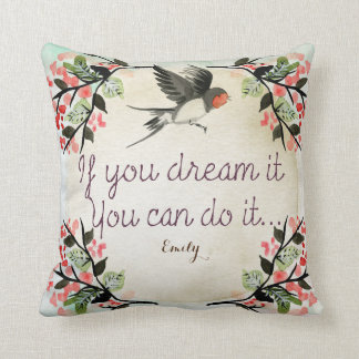 Goddaughter Inspirational Encouragement Gift Named Cushion