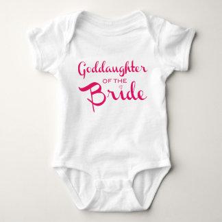 Goddaughter of Bride Tee Pink