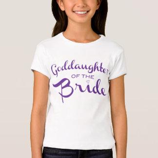 Goddaughter of Bride Tee Purple