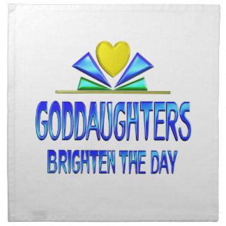 Goddaughters Brighten the Day Napkin