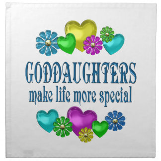 Goddaughters More Special Napkin