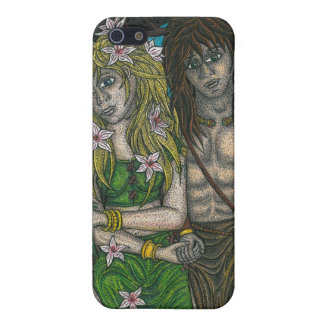 Goddess and the Horned God Case For iPhone 5/5S
