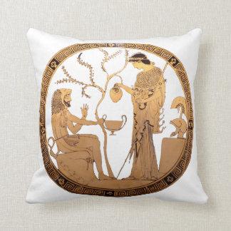 Goddess Athena and Heracles Cushion