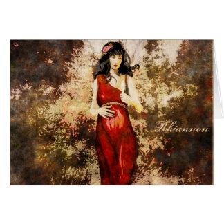 Goddess Birthday Card