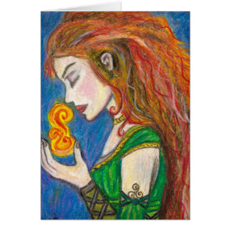 Goddess Brigid Card