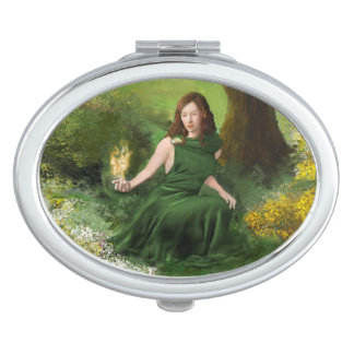 Goddess Brigid Compact Mirrors