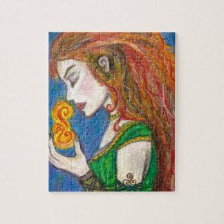 Goddess Brigid Jigsaw Puzzle