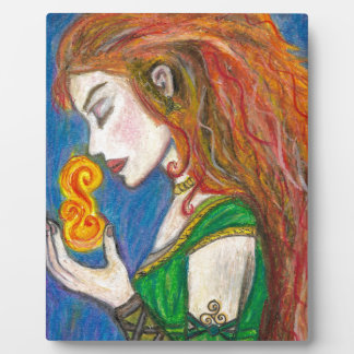 Goddess Brigid Photo Plaque