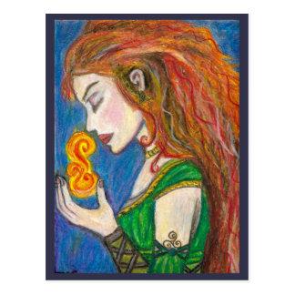 Goddess Brigid Postcard