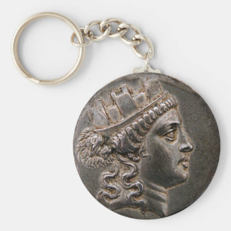 Goddess Cybele Tetradrachm Key Ring