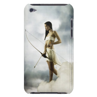 Goddess Diana with bow and arrow Barely There iPod Covers