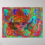 Goddess Durga2 Poster