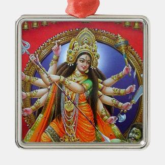 Goddess Durga Christmas Ornament