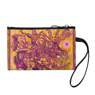 Goddess Durga Coin Bagettes Bag Change Purse