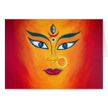 """Goddess Durga"" note card"