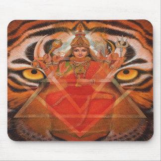 Goddess Durga & Tiger Mousepad