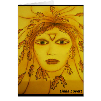 goddess elemental oracle greeting cards
