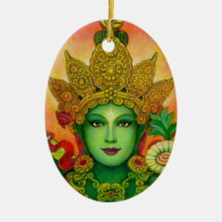 Goddess Green Tara's Face Ornament