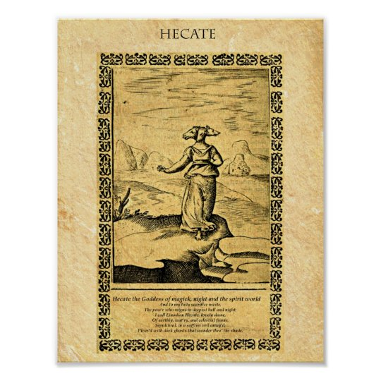 GODDESS HECATE POSTER