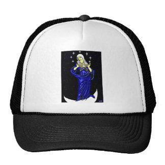 Goddess Holding Pentacle Cap