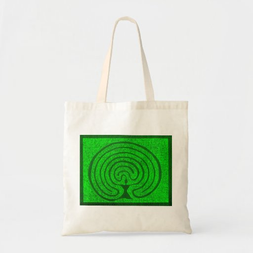 Goddess in the labyrinth 1 tote bags