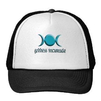 goddess incarnate blue trucker hats