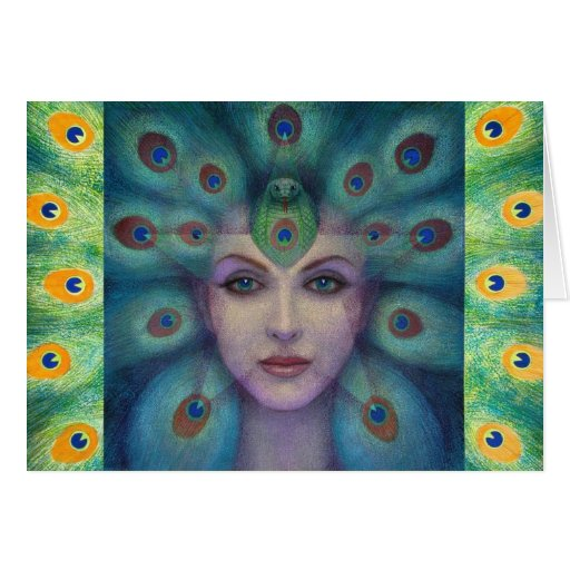 Goddess Isis the Seer Card