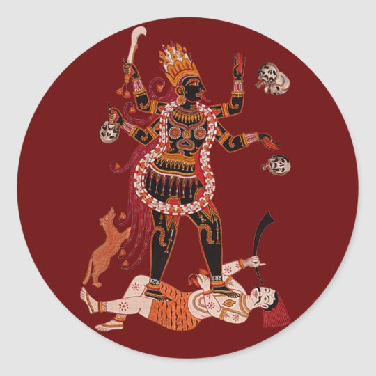 Goddess Kali stickers