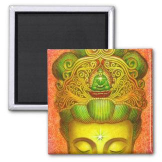 Goddess Kuan Yin's Crown Magnet