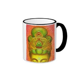 Goddess Kuan Yin's Crown Ringer Coffee Mug