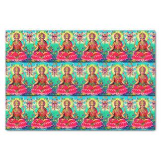 """Goddess Lakshmi bright tissue paper 10"""" X 15"""" Tissue Paper"""