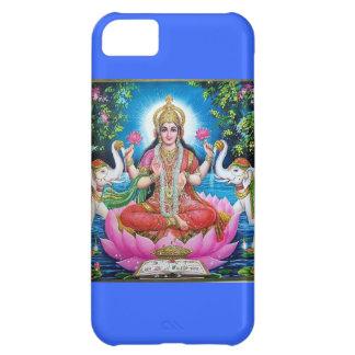 Goddess Lakshmi iphone case Blue iPhone 5C Cover