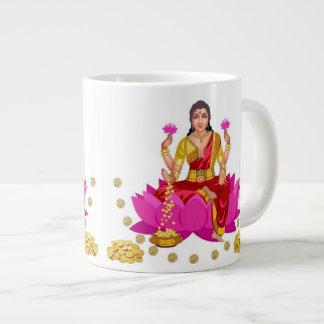 Goddess Lakshmi Jumbo Mug
