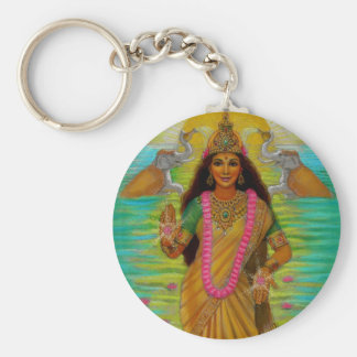 Goddess Lakshmi Keychain