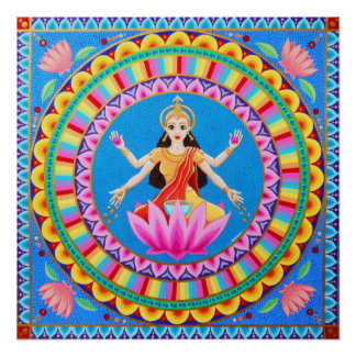 Goddess Lakshmi Mandala