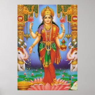 goddess-Lakshmi Poster