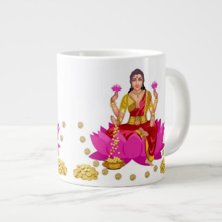 Goddess Lakshmi Jumbo Mugs