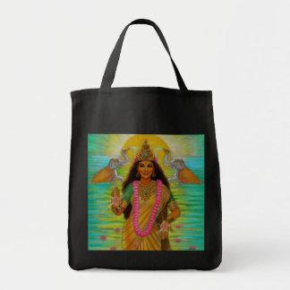 Goddess Lakshmi Tote Bags