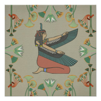 Goddess Maat Poster