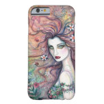 Goddess of Flowers Fairy Fantasy Art iPhone 6 case Barely There iPhone 6 Case