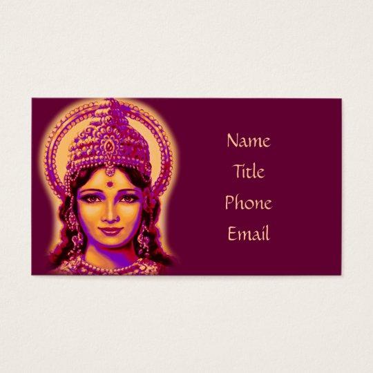 Goddess of Fortune - Lakshmi Business Card