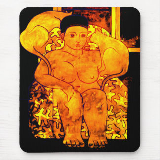 Goddess of Islands Mouse Pad