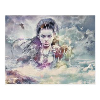 Goddess of Mythology Postcard
