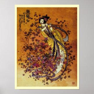 Goddess of Prosperity Print Poster