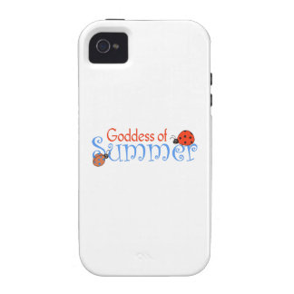 GODDESS OF SUMMER VIBE iPhone 4 CASES