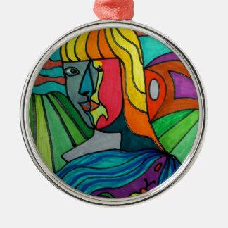 Goddess of the land christmas ornament